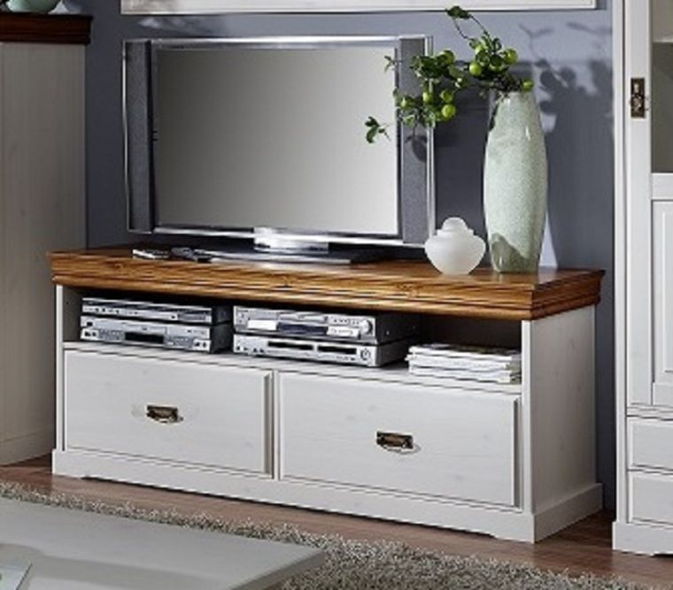 tv board avignon kiefer 150x43x63 cm landhausstil. Black Bedroom Furniture Sets. Home Design Ideas