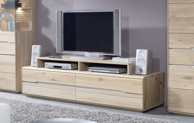 tv board oslo wildeiche 182x55x39 cm modern. Black Bedroom Furniture Sets. Home Design Ideas