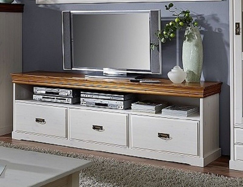 tv board avignon kiefer 194x43x63 cm landhausstil. Black Bedroom Furniture Sets. Home Design Ideas