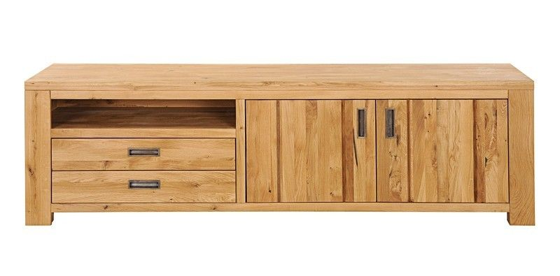 tv lowboard sideboard massivholz tv board wildeiche eiche bozen 412 ebay. Black Bedroom Furniture Sets. Home Design Ideas