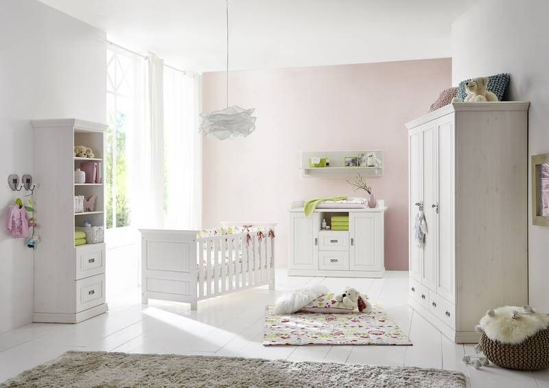 kinderzimmer der serie nelly aus wei em kiefer. Black Bedroom Furniture Sets. Home Design Ideas