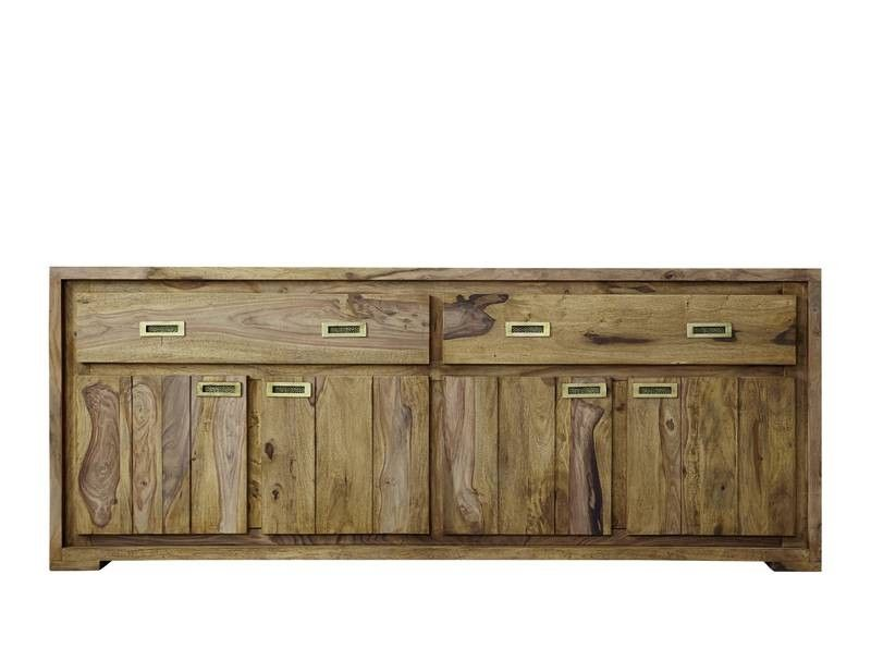 sheesham holz massiv sideboard palisander m bel nature. Black Bedroom Furniture Sets. Home Design Ideas