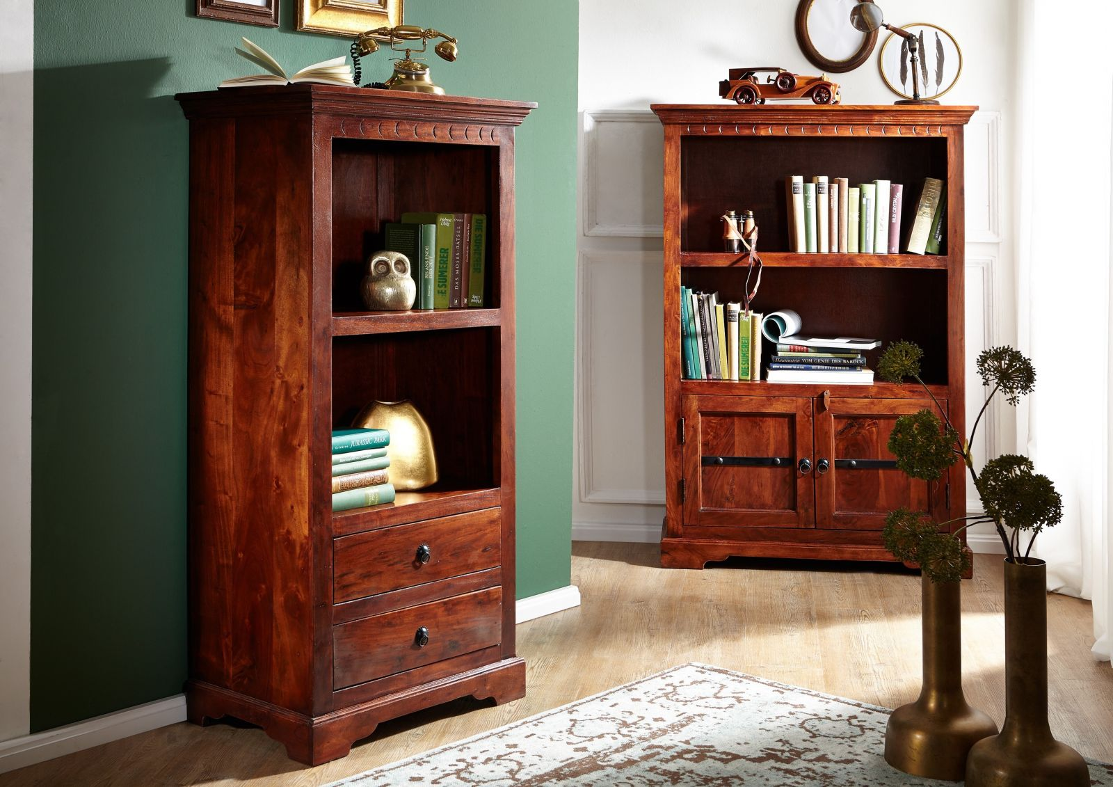 regal 1010 akazie kolonial oxford massiv ebay. Black Bedroom Furniture Sets. Home Design Ideas