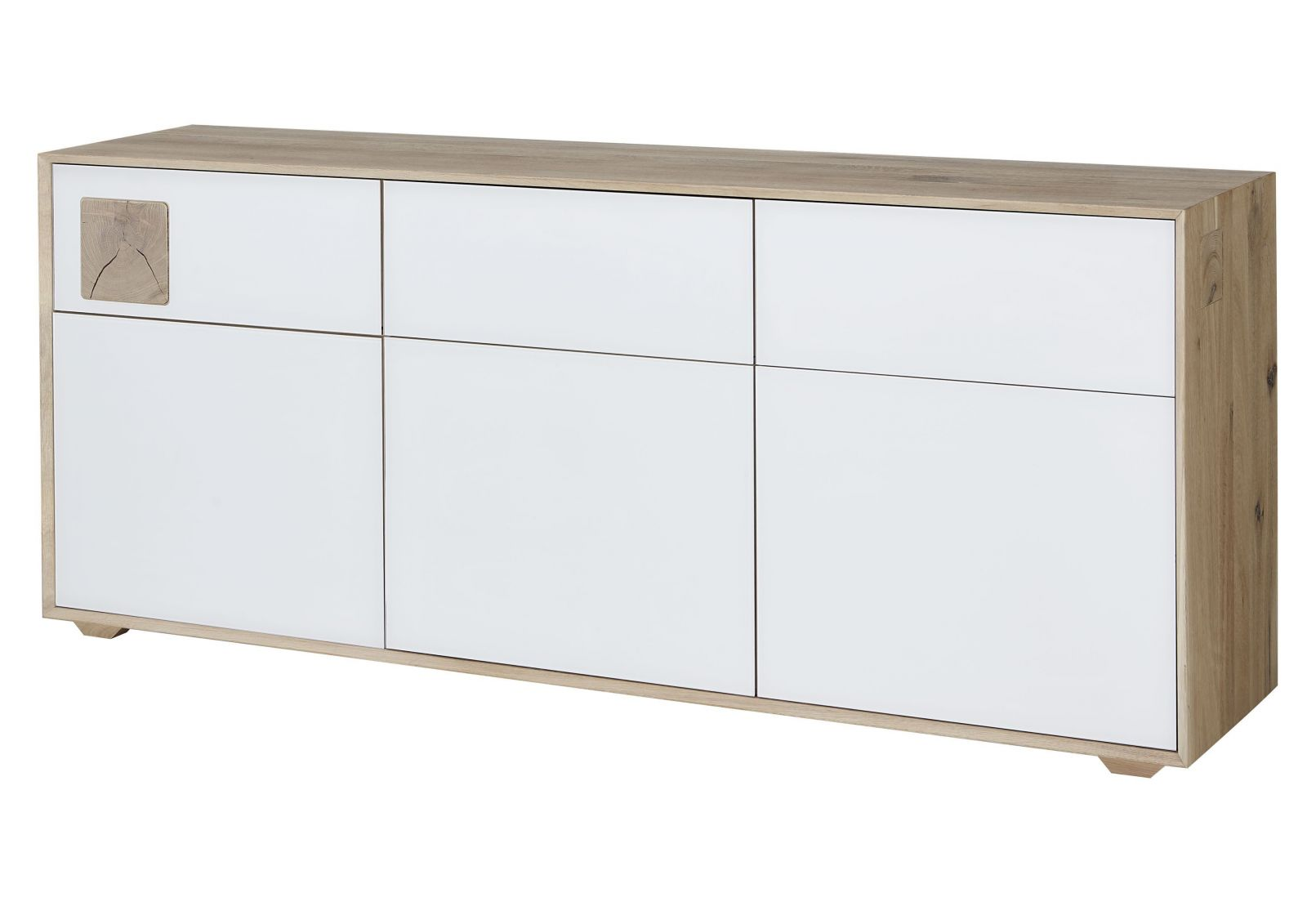 sideboard wildeiche 180x42x78 bianco ge lt m nchen 204. Black Bedroom Furniture Sets. Home Design Ideas