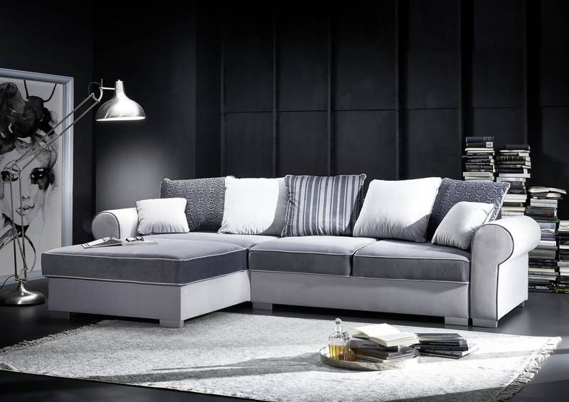 ecksofa mit schlaffunktion und bettkasten. Black Bedroom Furniture Sets. Home Design Ideas