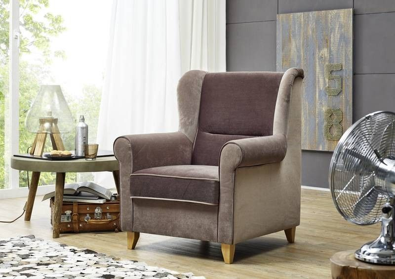 Loungesessel 82x83x99 braun DELUXE COMFORT