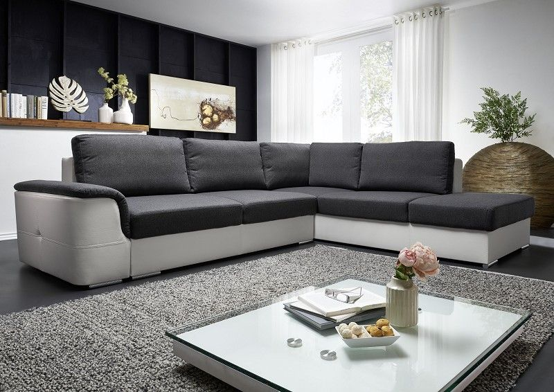 eckgarnitur ibiza sofa mit schlaffunktion und bettkasten ebay. Black Bedroom Furniture Sets. Home Design Ideas