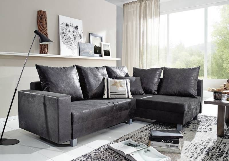 maya sofa ecksofa bezug grau vintage antik optik. Black Bedroom Furniture Sets. Home Design Ideas