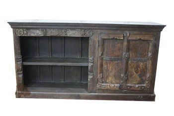 Sideboard Altholz 178x41x95 mehrfarbig lackiert SPECIAL #101