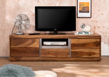 TV-Board Sheesham 170x40x50 noble unique lackiert SYDNEY #115