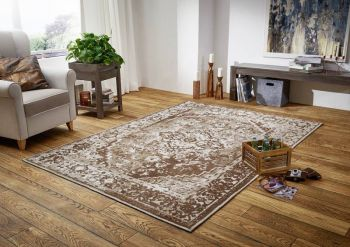 Teppich 240x170x beige LINCOLNTWO