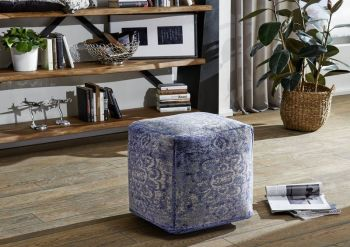 Hocker 45x45x45 blau NEW BOSTON