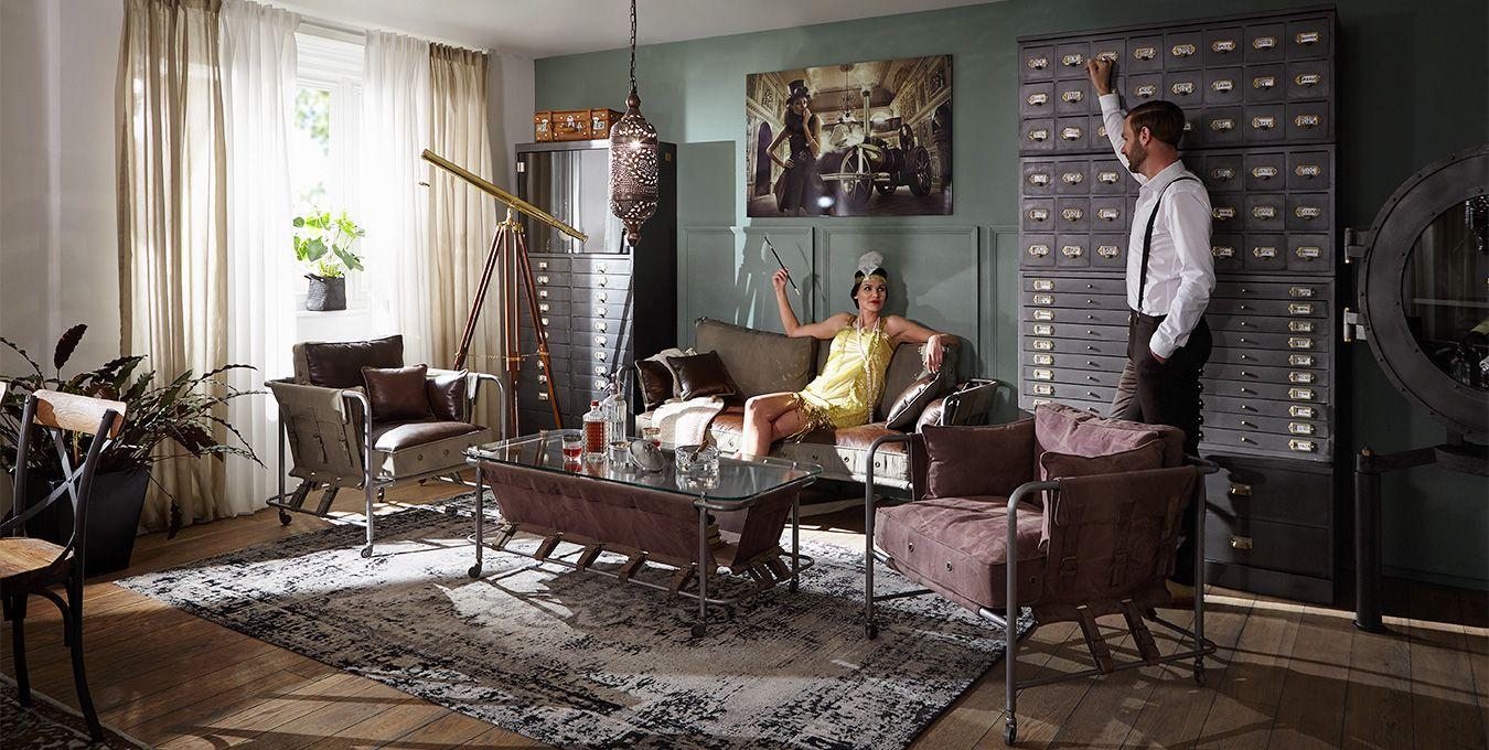 16er Jahre Möbel versandfrei kaufen  Massivmoebel16