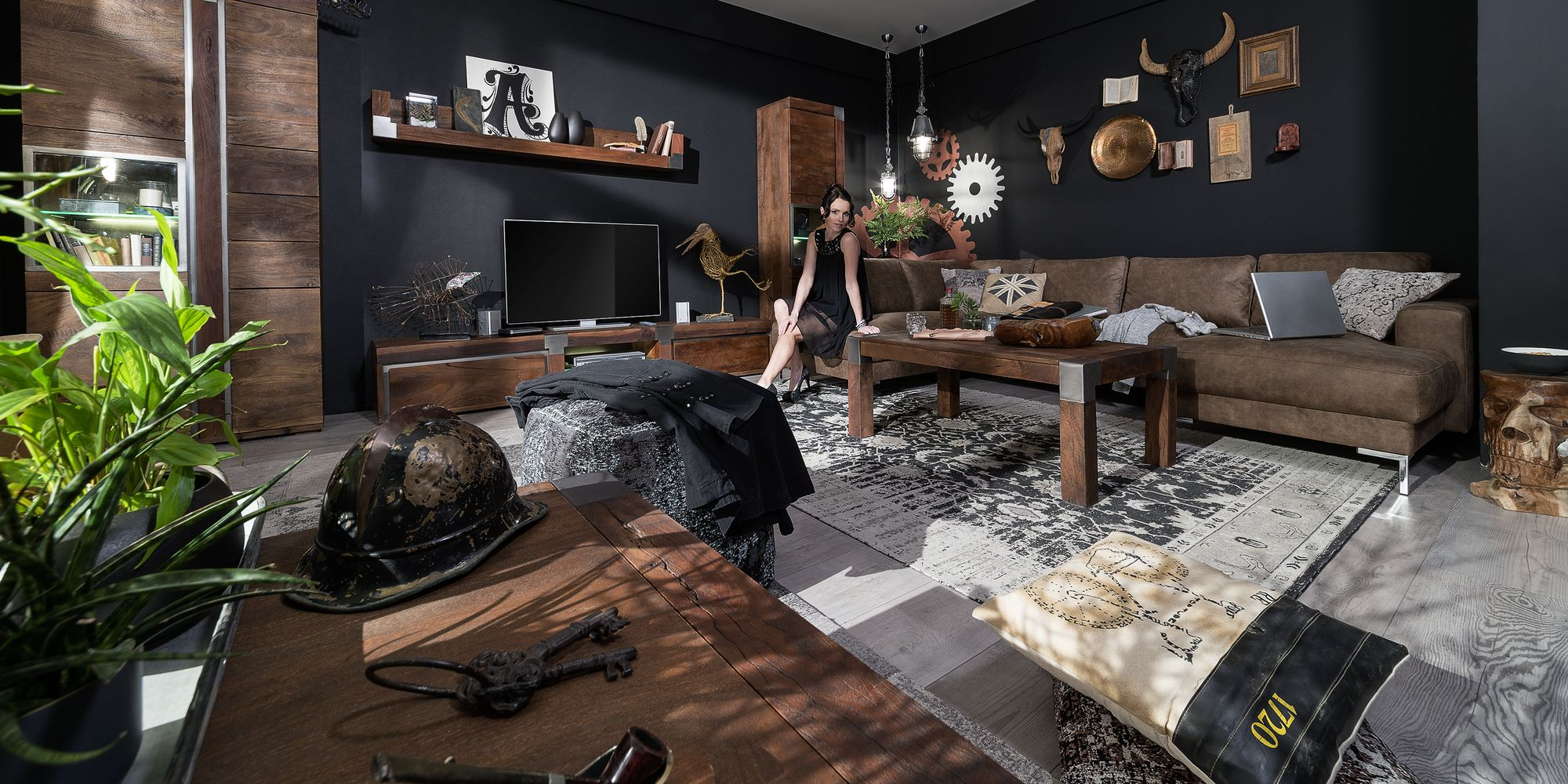 Möbelserie Designermöbel aus Mangoholz ➤ Massivholzmöbel