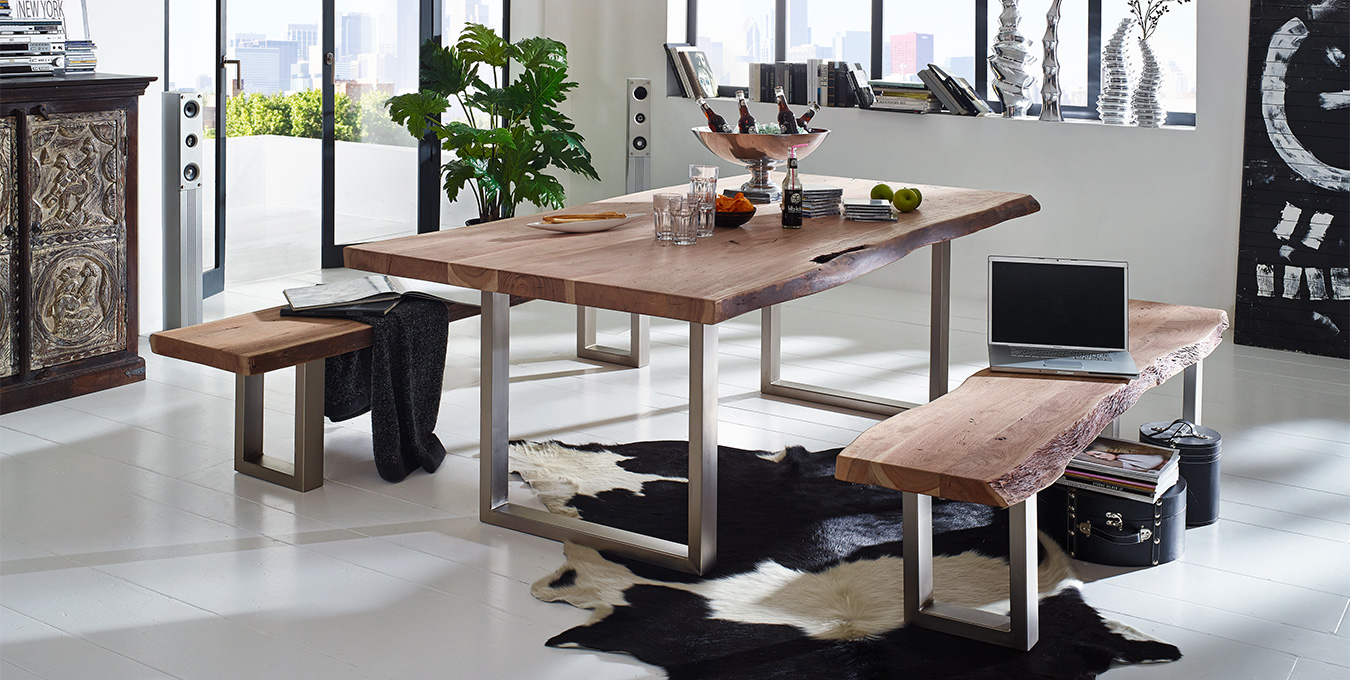 Möbelserie Baumstamm Möbel aus Massivholz | Massivholzmöbel